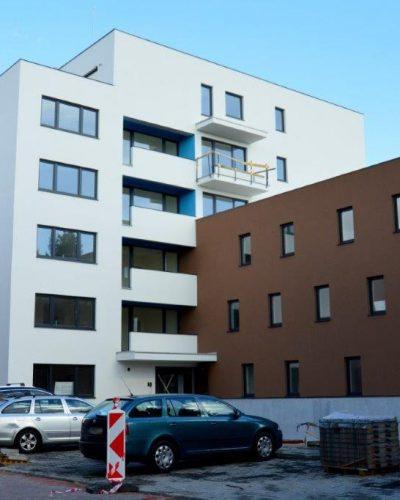 Bytový dom na Mierovej ulici v Bratislave
