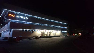"""Obchodné centrum """"STRED"""" v Malackách"""